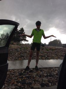 Day 1 hail